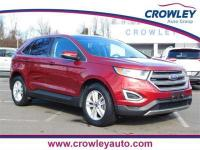 2015 Ford Edge SEL AWD in Ruby Red Metallic Tinted