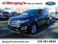 FORD CERTIFIED! ALL WHEEL DRIVE FORD EDGE SEL.