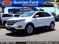 CLEAN 1 OWNER FORD EDGE ALL WHEEL DRIVE, THIS SUV IS