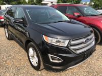 CARFAX One-Owner. Clean CARFAX. Black 2015 Ford Edge
