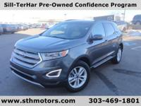 Our One Owner 2015 Ford Edge SEL All Wheel Drive in