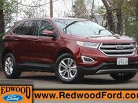 2015 Ford Edge SEL. AWD. Turbocharged! SUV buying made