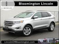 New Price! 2015 Ford Edge SEL Alloy wheels, AM/FM