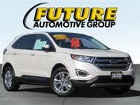 ***WOW! FLAWLESS FORD CERTIFIED 2015 FORD EDGE SEL