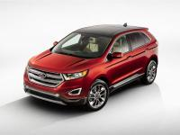 Clean CARFAX. 2015 Ford Edge SEL White FWD 6-Speed