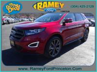 Take command of the road with this 2015 Ford Edge. This
