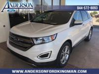 This Ford Edge has a strong Intercooled Turbo Premium