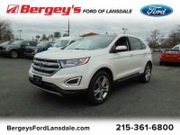 FORD CERTIFIED! ALL WHEEL DRIVE FORD EDGE TITANIUM!