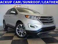 Options:  2015 Ford Edge Titanium|Silver|Priced Below