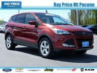 Escape SE, Ford Certified Pre-Owned Certified, 4D Sport