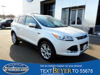 WOW WHAT AN SUV!!! This 2015 Certified Ford Escape Ti