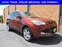 "Clean ONE OWNER CARFAX. "" 2015 FORD ESCAPE TITANIUM"