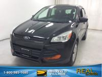 Tuxedo Black 2015 Ford Escape S FWD 6-Speed Automatic