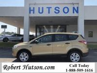 Clean Local Trade-In 2015 Ford Escape S with 2.5L I4,