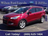 2015 FORD Certified Ruby Red Escape!! This Escape has