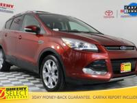 New Price! 2015 Ford Escape Titanium Certification