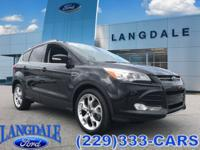 CARFAX One-Owner. Tuxedo Black 2015 Ford Escape