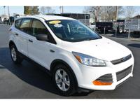2015 FORD ESCAPE S, 1 Owner! No Accidents Factory