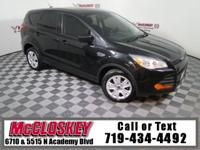 Low miles 2015 Ford Escape S w/ Powerful 2.5L Duratec