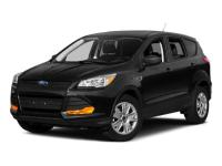 Certified. Gray 2015 Ford Escape S FWD 6-Speed