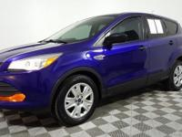 This 2015 Ford Escape in Deep Impact Blue features.