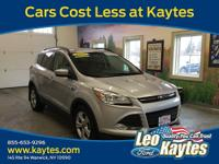 Ford Certified! 2015 Ford Escape SE in Beautiful Ingot