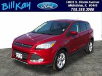 CARFAX One-Owner. Clean CARFAX. Red 2015 Ford Escape SE