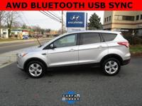 CARFAX One-Owner. Ingot Silver 2015 Ford Escape SE