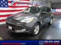 CARFAX One-Owner. Gray 2015 Ford Escape SE AWD 6-Speed