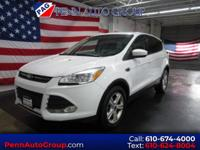 CARFAX One-Owner. Clean CARFAX. White 2015 Ford Escape