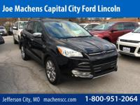 CARFAX One-Owner. Tuxedo Black 2015 Ford Escape SE FWD