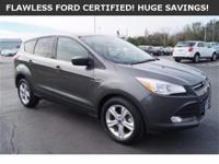 ***WOW! 32+MPG! FLAWLESS FORD CERTIFIED ESCAPE! LOADED