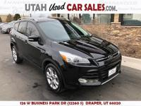 Awd! Titanium! 2.0 eco boost! Brand new tires! Loaded!