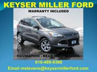 CARFAX One-Owner. Magnetic 2015 Ford Escape Titanium