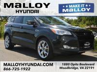 CARFAX One-Owner. Clean CARFAX. Black 2015 Ford Escape
