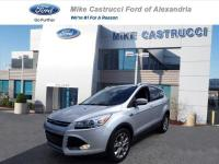 Ingot Silver 2015 Ford Escape Titanium AWD 6-Speed