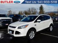 This 2015 Ford Escape  has a L4, 2.0L; Turbo high