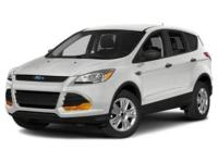 2015 Ford Escape Titanium White Platinum AWD 6-Speed