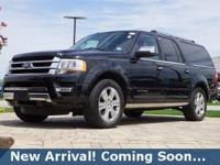 2015 Ford Expedition EL Platinum in Tuxedo Black