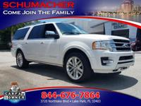 Options:  2015 Ford Expedition El Platinum| |3-Row