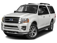 Clean CARFAX. White 2015 Ford Expedition EL XLT RWD
