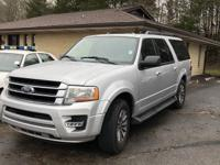 Clean CARFAX. Gray 2015 Ford Expedition EL RWD 6-Speed