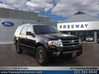 Tuxedo Black Metallic 2015 Ford Expedition Limited 4WD