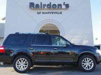 4WD. 2015 Ford Expedition Limited 4x4 3rd Row Seating