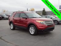 Ruby Red Metallic Tinted Clearcoat 2015 Ford Explorer