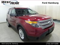 New Price! 2015 Ford Explorer Ruby Red Metallic Tinted