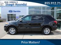 Tuxedo Black Metallic 2015 Ford Explorer AWD 6-Speed