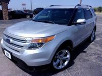 Recent Arrival! Silver 2015 Ford Explorer Limited AWD