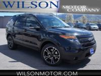 CARFAX One-Owner. 2015 Ford Explorer Sport AWD 6-Speed