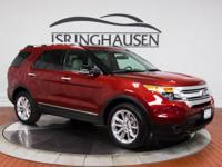 This 1-owner 2015 Ford Explorer XLT arrives on trade